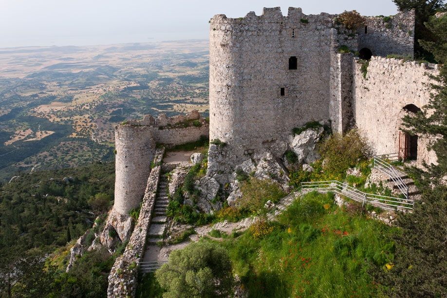The castle of Kantara and the cave of Incirli