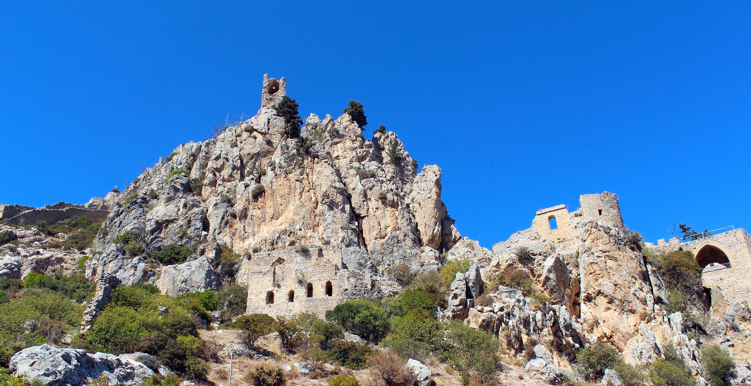 The Castle of St. Hilarion