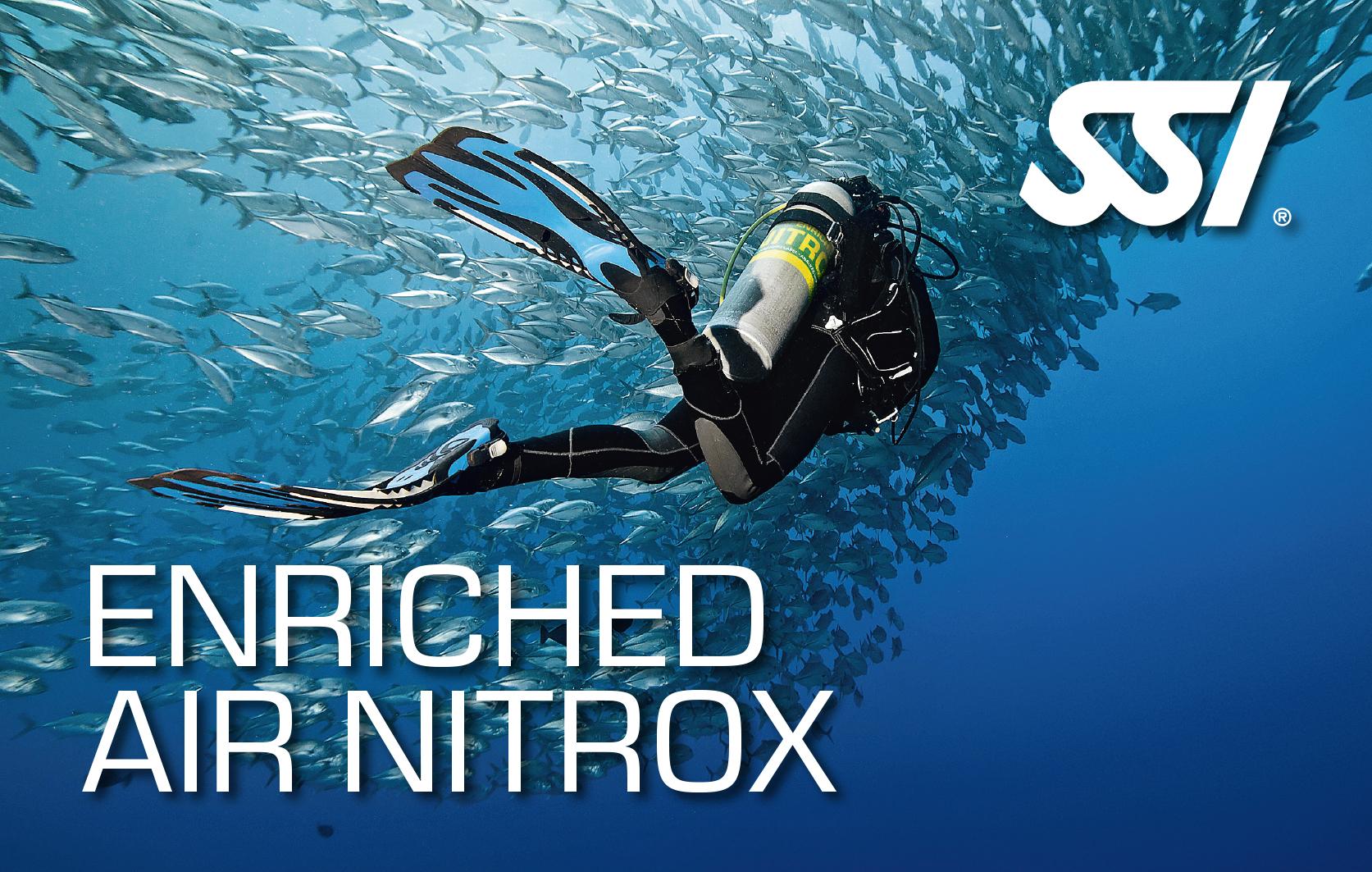 Погружения на обогащенной смеси Nitrox
